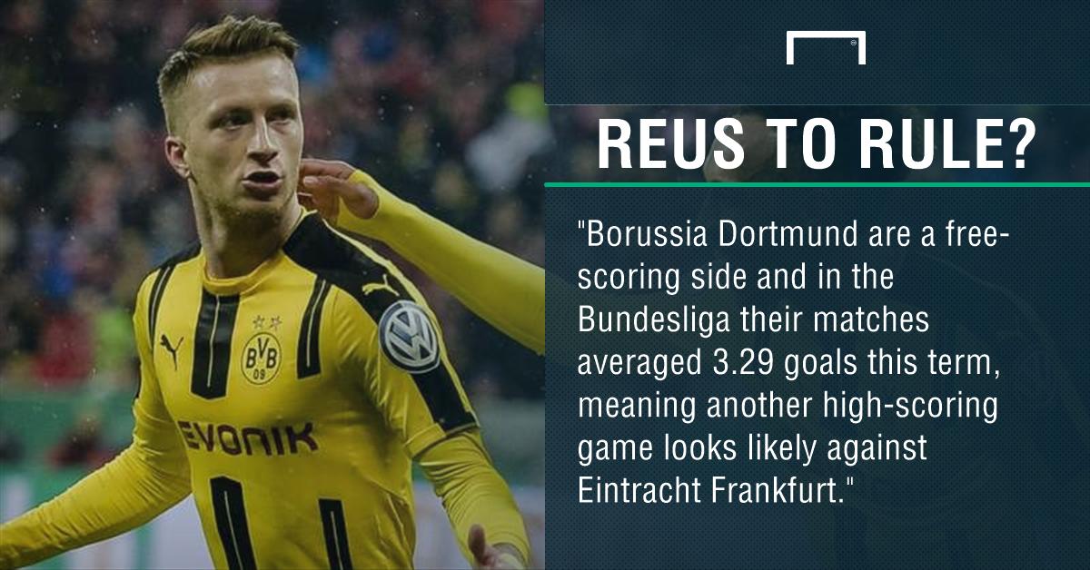 GFX Eintracht Frankfurt Borussia Dortmund betting