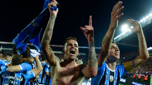 Luan Gremio Copa Libertadores