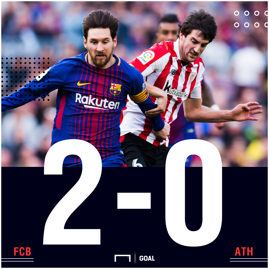 Barca Athletic score