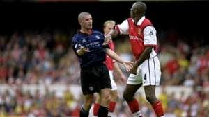 Roy Keane Patrick Vieira Manchester United Arsenal