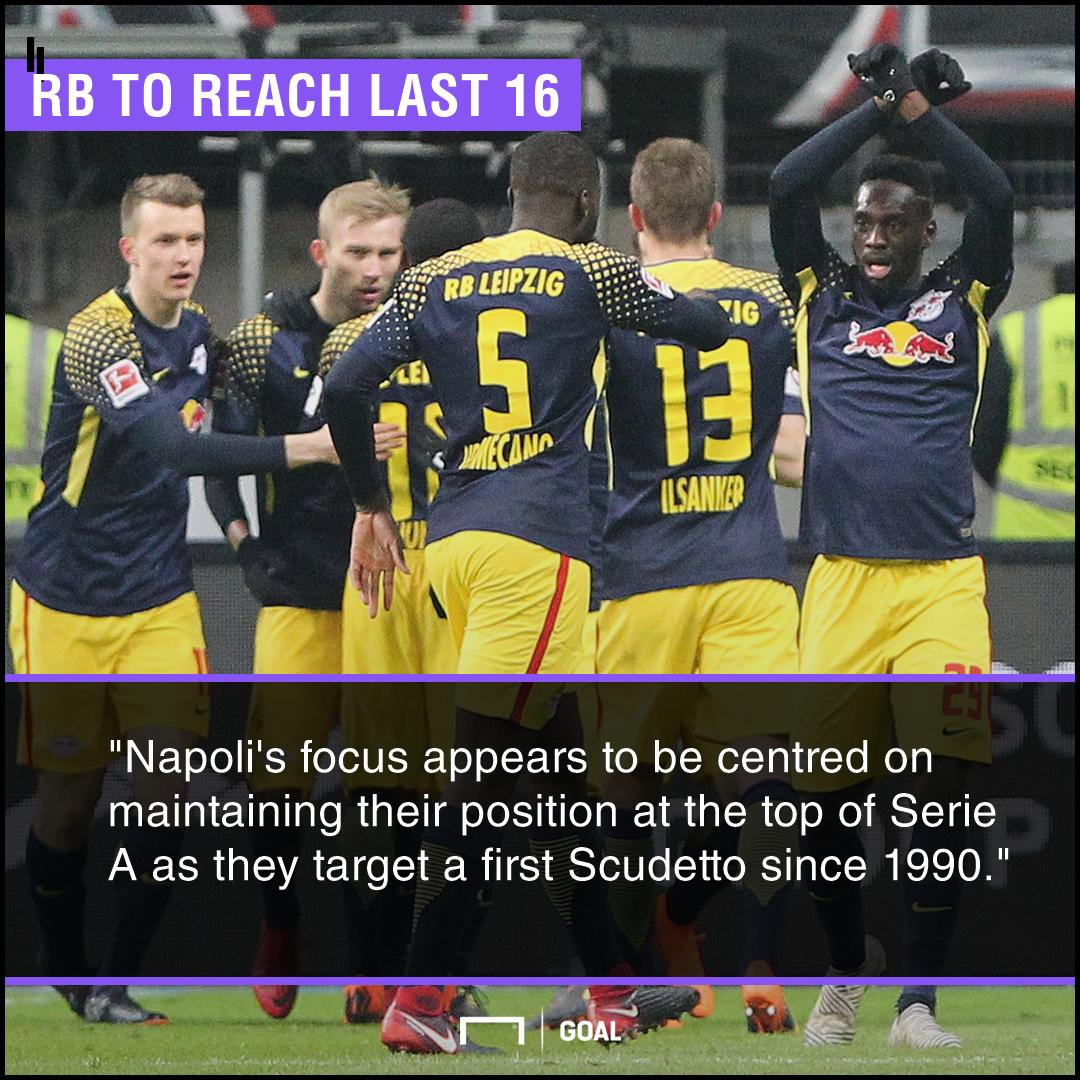 RB Leipzig Napoli graphic