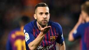 Jordi Alba Barcelona Real Sociedad