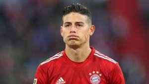 James Rodriguez Bayern Munich