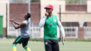 South Africa U20 coach Thabo Senong
