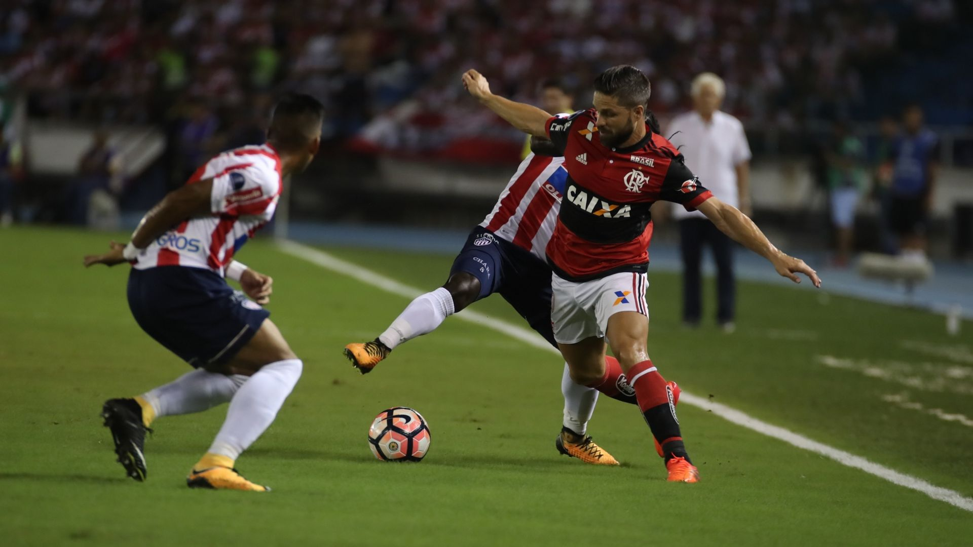 Diego Ribas Junior Barranquilla Flamengo Copa Sudamericana 30112017