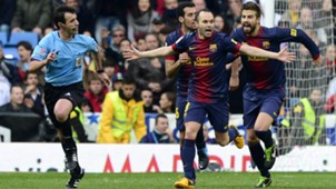FC Barcelona Andres Iniesta 02032013