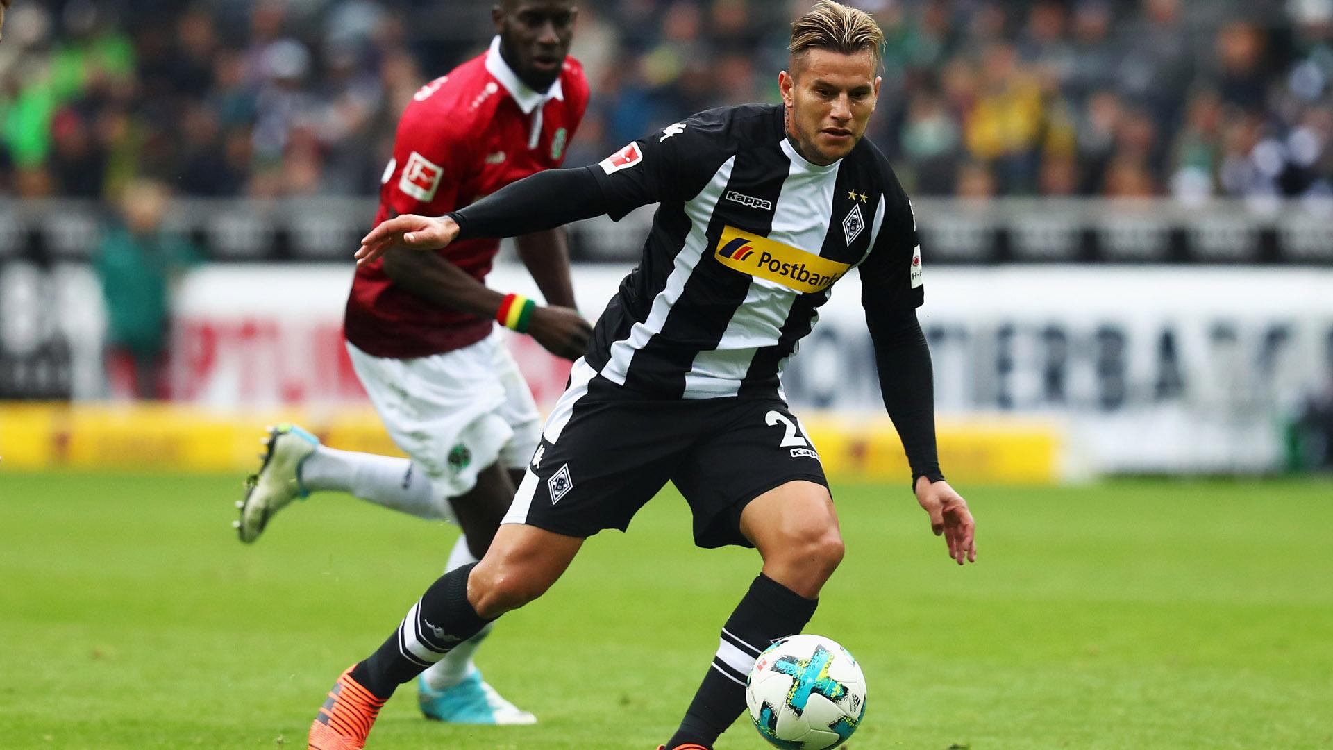 Raul Bobadilla Borussia Mönchengladbach 30092017