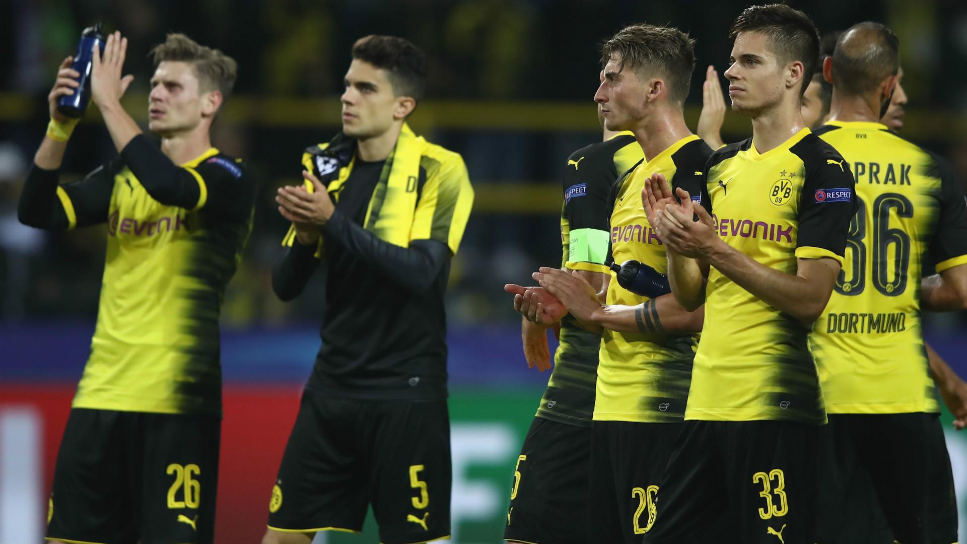 Julian Weigl Maximilia Philipp Marc Bartra Borussia Dortmund Real Madrid Champions League 26092017
