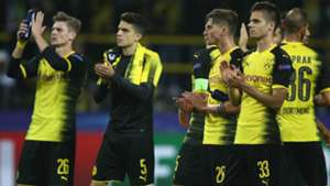 Julian Weigl Maximilia Philipp Marc Bartra Borussia Dortmund Real Madrid Champions League 26092017