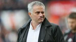 Jose Mourinho, Stoke v Man Utd, 2017/18