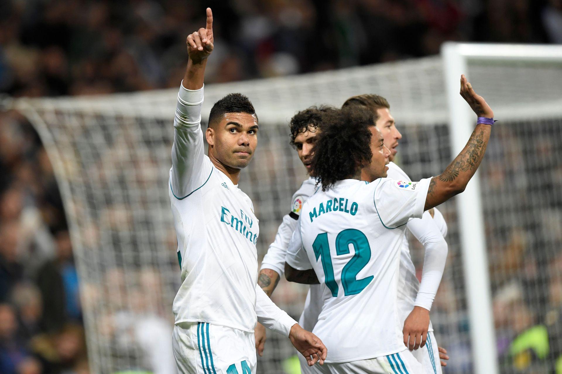 Casemiro Real Madrid Las Palmas LaLiga