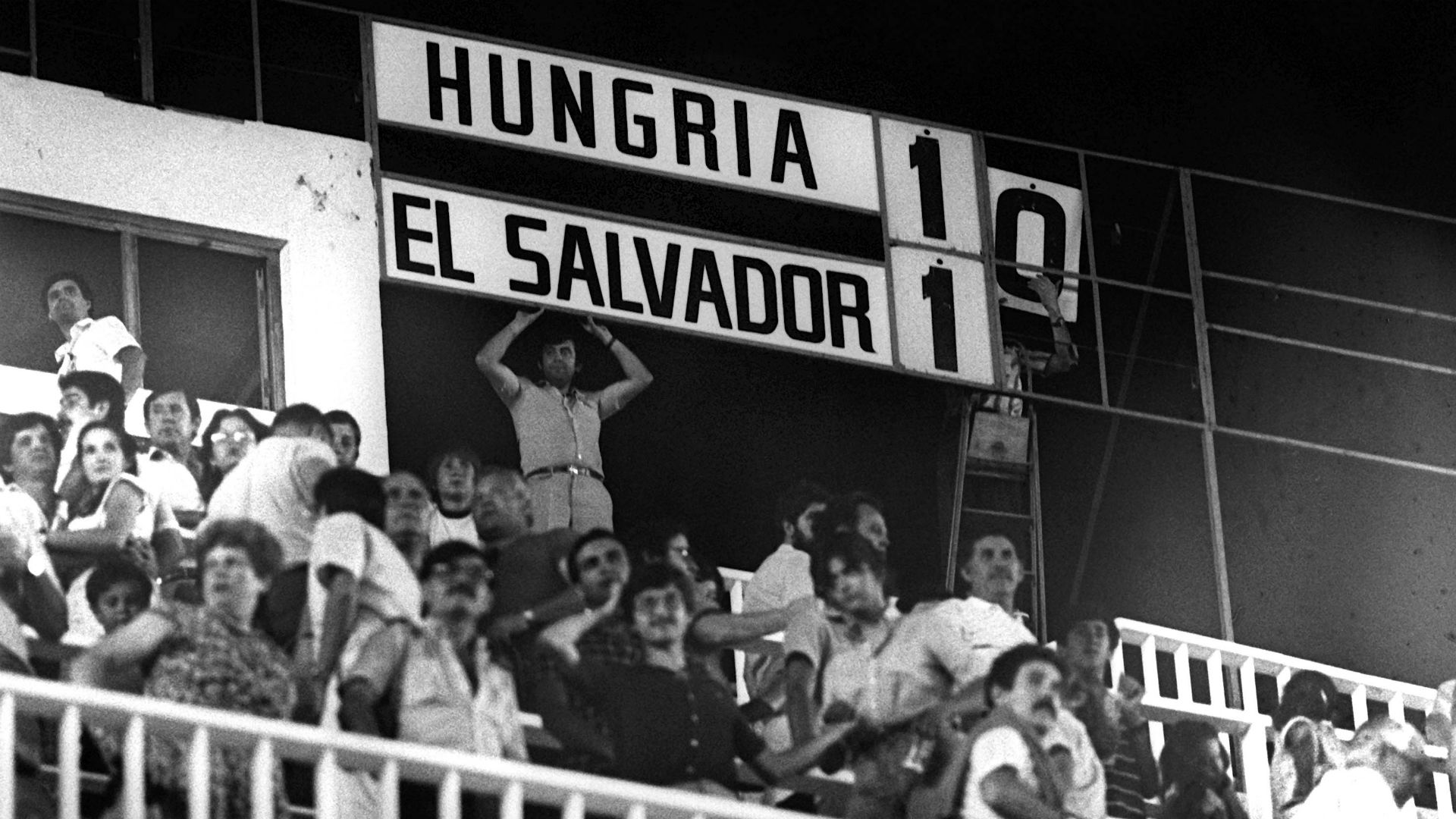 Hungary El Salvador FIFA World Cup 1982