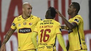 Barcelona SC celebrates Copa Libertadores 041417