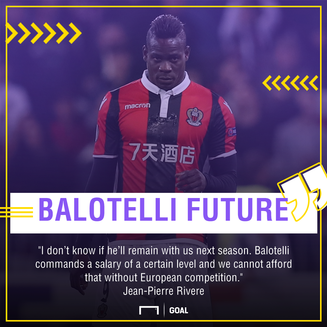 Mario Balotelli Nice future