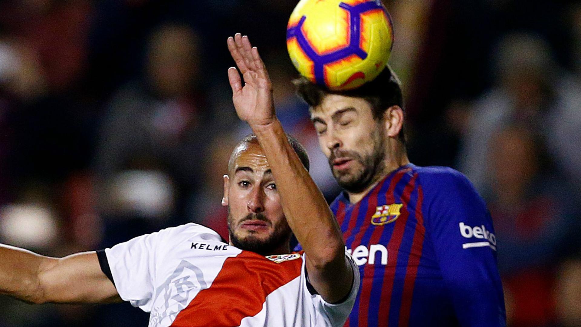 rayo vallecano v barcelone r u00e9sum u00e9 du match  03  11  2018