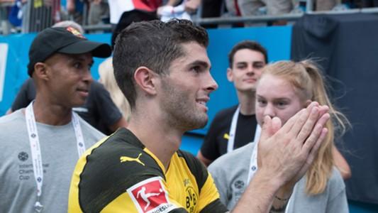 Christian Pulisic Borussia Dortmund 22072018