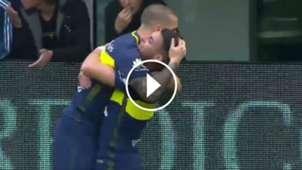 VIDEO PLAY Gol Benedetto Boca Union Torneo Primera Division 25062017