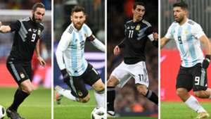 Di Maria Messi Aguero Higuain Argentina