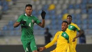 Emeka Atuloma Nigeria Ally Niyonzima Rwanda CHAN 2018