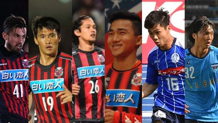 J.League ASEAN palyers