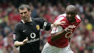 Roy Keane Manchester United Patrick Vieira Arsenal 2005