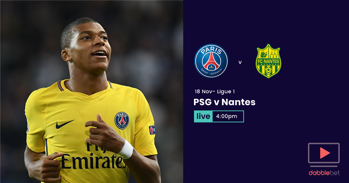 PSG nantes graphic