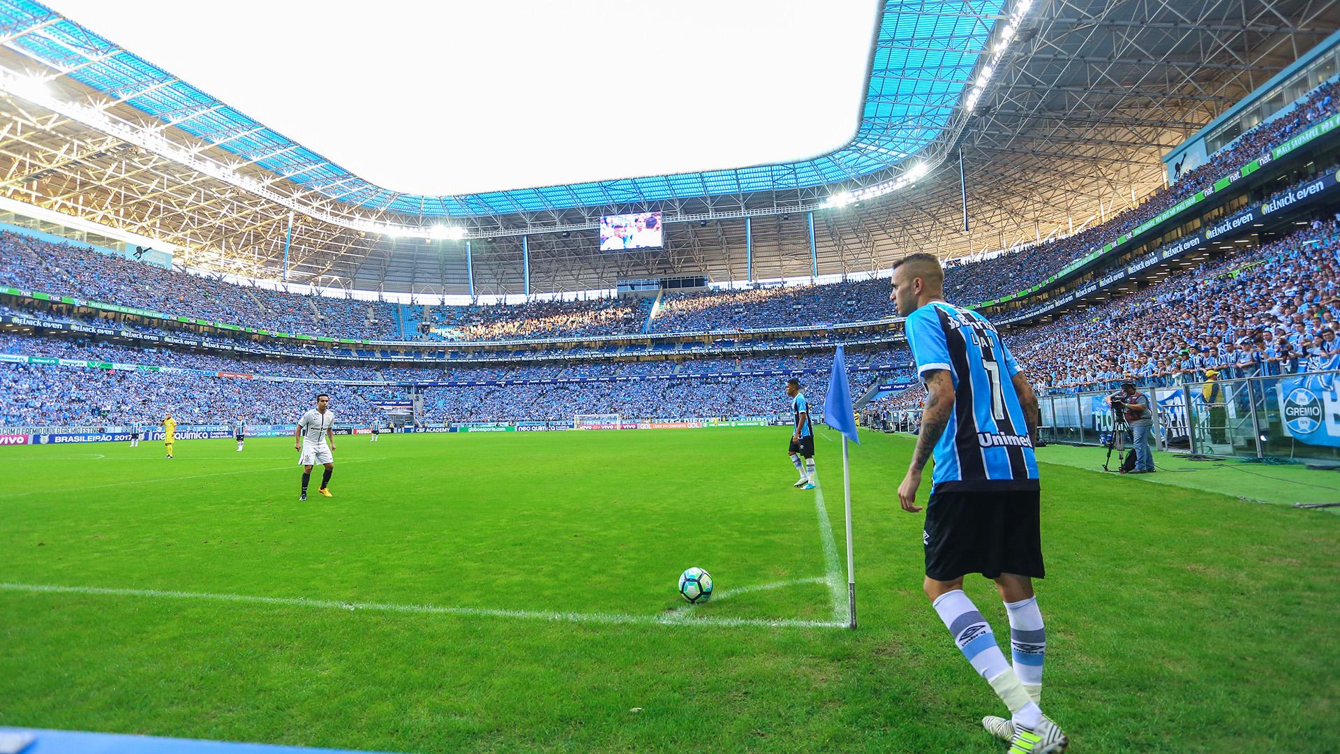 Luan Arena Gremio Gremio Corinthians Brasileirao Serie A 25062017