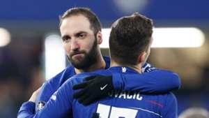 Gonzalo Higuain, Mateo Kovacic, Chelsea
