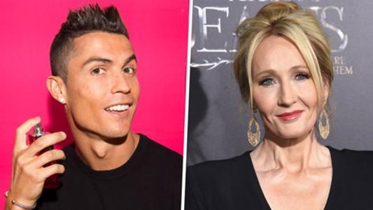 Cristiano Ronaldo JK Rowling GFX