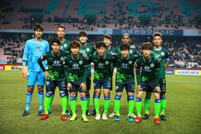 Jeonbuk Motors Tianjin Quanjian AFC Champions League 2018