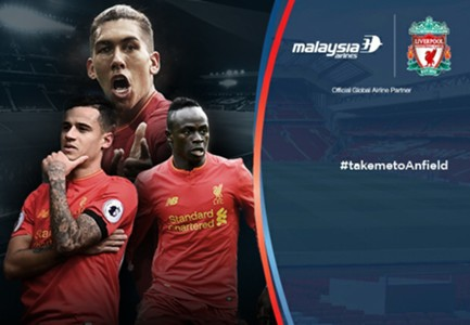Liverpool V Bournemouth - Malaysia Airlines