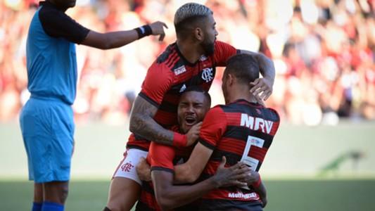 Gabigol Vitinho Flamengo Americano Carioca 24022019
