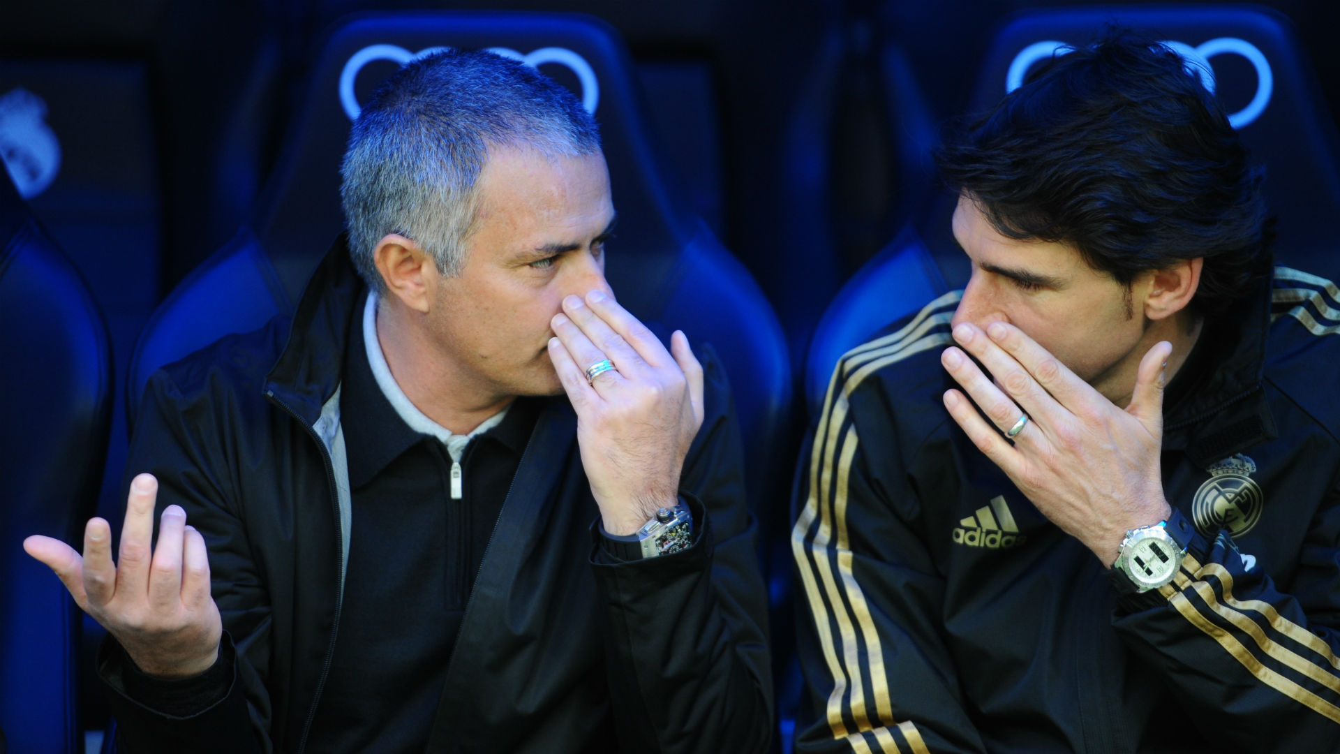 Jose Mourinho Aitor Karanka Real Madrid