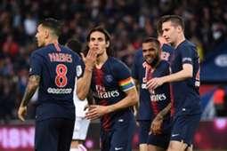 Edinson Cavani PSG Dijon Ligue 1