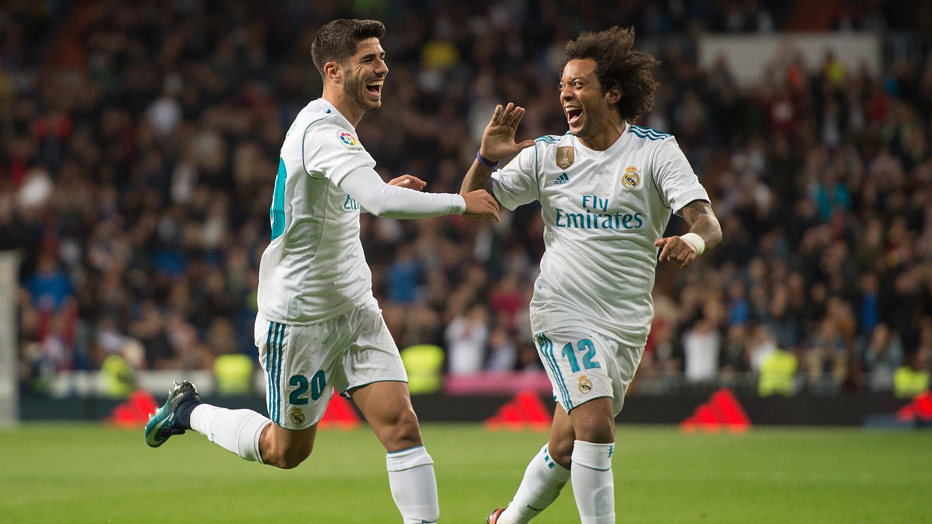 Real Madrid Las Palmas Asensio Marcelo 05112017