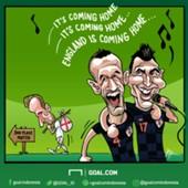 KARTUN - Football It's Coming Home