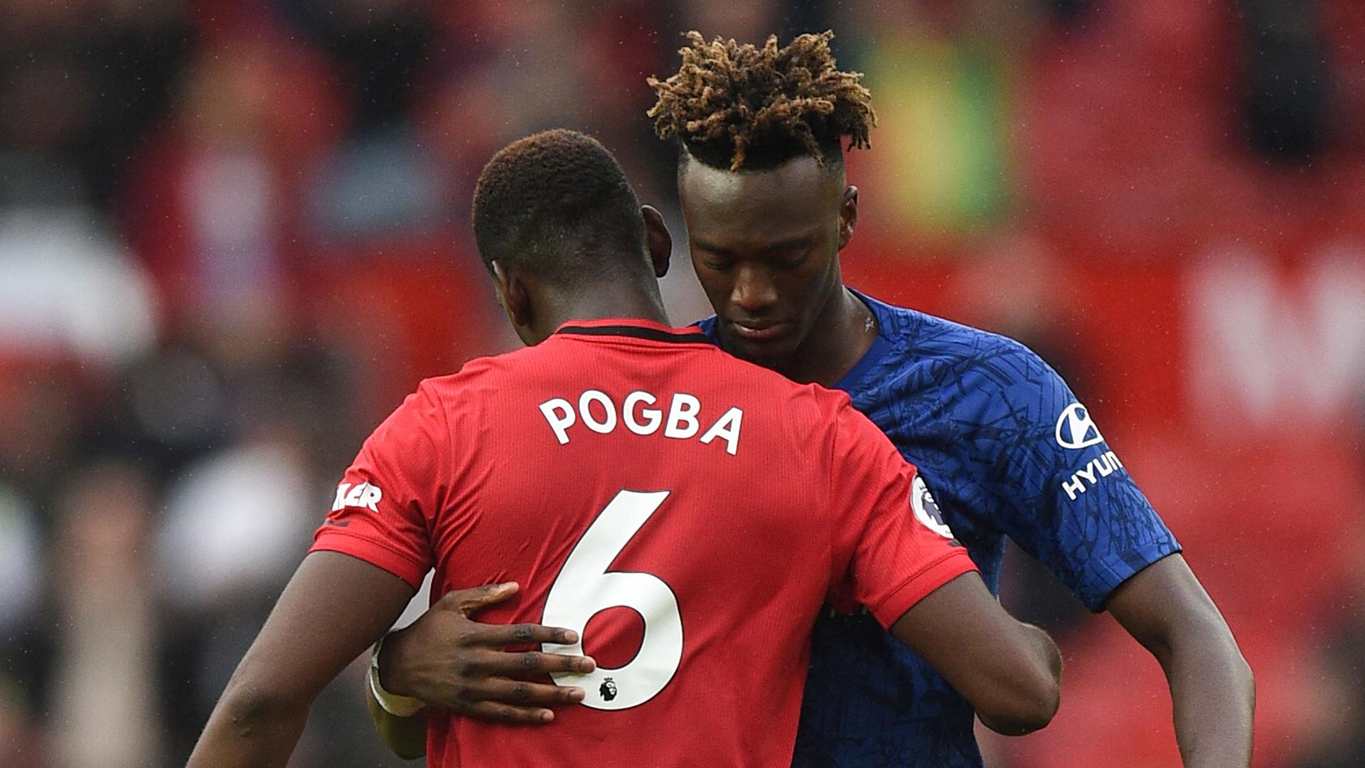 Paul Pogba Tammy Abraham Man Utd Chelsea