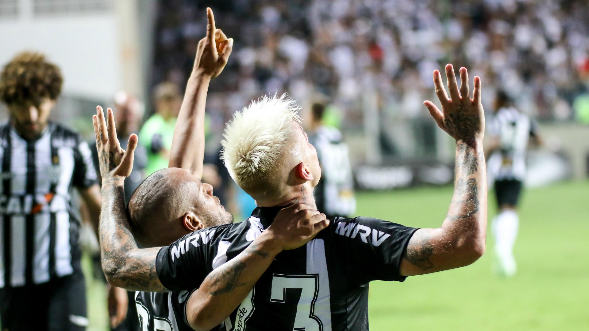 Róger Guedes Patric Atlético-MG Corinthians Campeonato Brasileiro 29042018