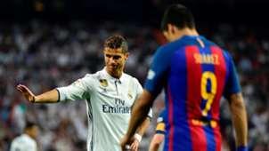 Cristiano Ronaldo Luis Suarez Real Madrid Barcelona LaLiga 23042017