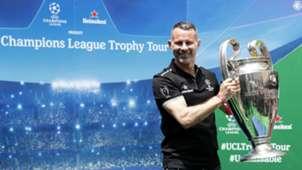Ryan Giggs Champions League Trophy Tour Johannesburg