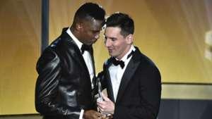 Eto'o and Messi