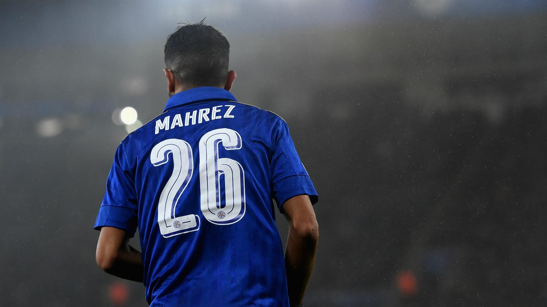 Riyad Mahrez Leicester City 2017