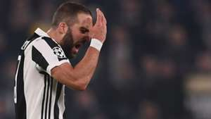 Gonzalo Higuain Juventus Barcelona Champions League