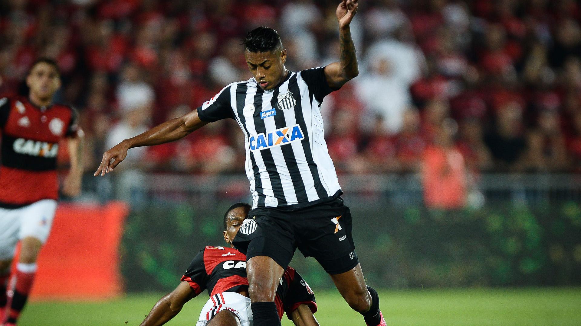 Bruno Henrique Flamengo Santos Copa do Brasil 28062017