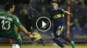 VIDEO PLAY GOL PAVON Boca Villarreal 02082017