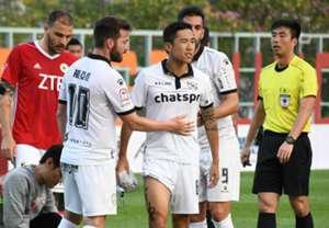 Hong Kong Premier league, Pegasus 5:0 won over Dreams FC.