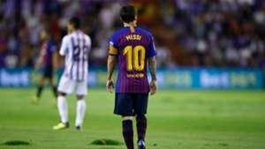 Lionel Messi Barcelona Valladolid La Liga 2018