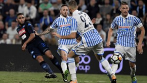 Faouzi Ghoulam SPAL Napoli Serie A