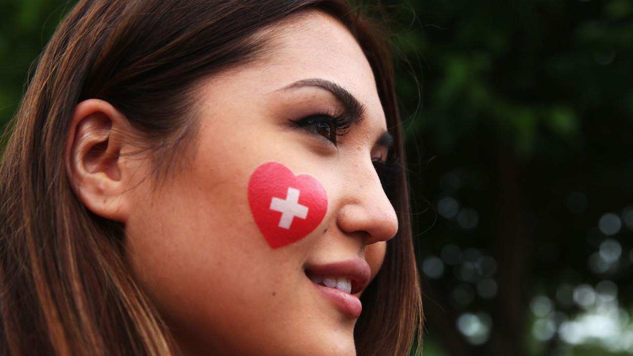 Switzerland fan