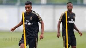 Rodrygo y Vinicius